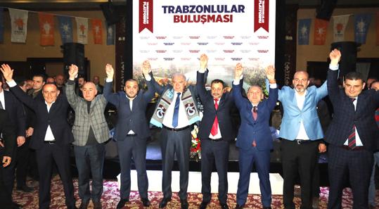 Mevlüt Uysal Trabzonlular ile buluştu