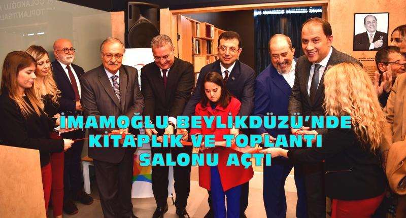 Nuri M.Çolakoğlu Kitaplığı ve Toplantı Salonu BAKSM'de açıldı