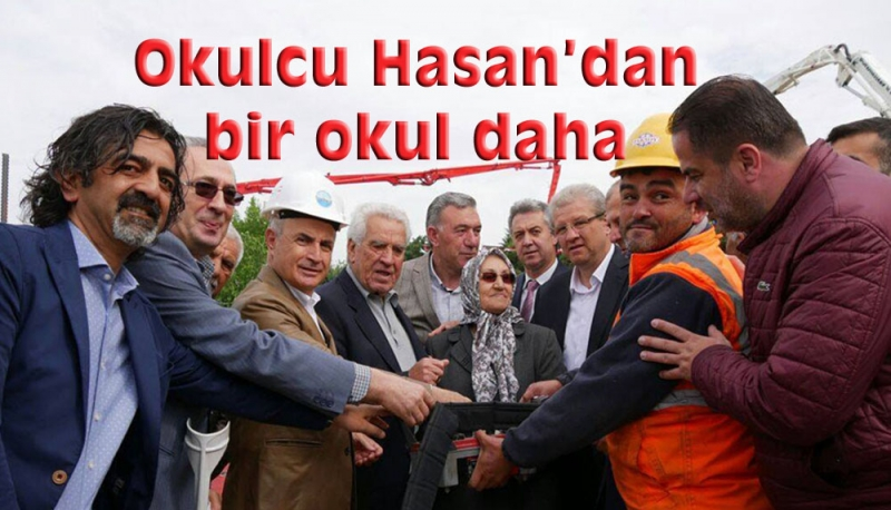 Okulcu Hasan'dan Büyükçekmece'ye bir okul daha!