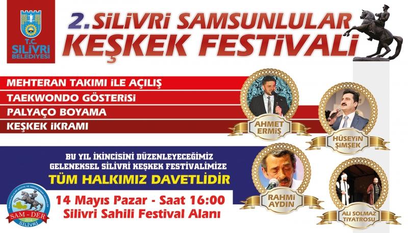 Samsunlular Silivri'de Keşkek Festivali'nde buluşacak
