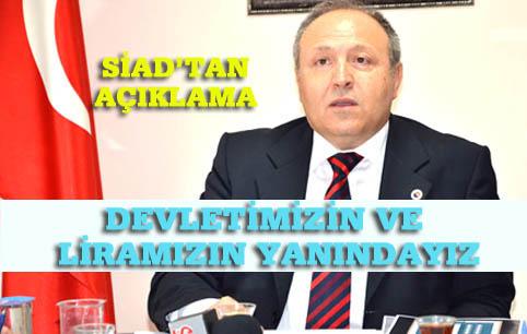 SİAD: Türk Milleti bu savaştan da pür alınla çıkacaktır