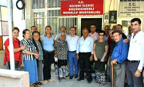 SİLİVRİ CHP'DEN BAYRAMDA  35 MAHALLEYE ÇIKARMA