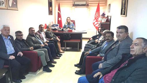 Silivri Demokrasi Platformu 'ndan CHP'ye  Kılıçdaroğlu ziyareti