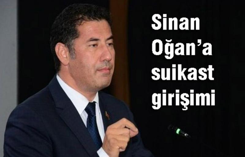 Sinan Oğan'a Samsun'da suikast girişimi!