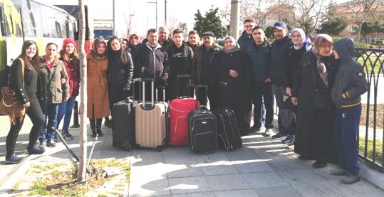 Tarım Lisesi öğrencileri İtalya'ya  gitti