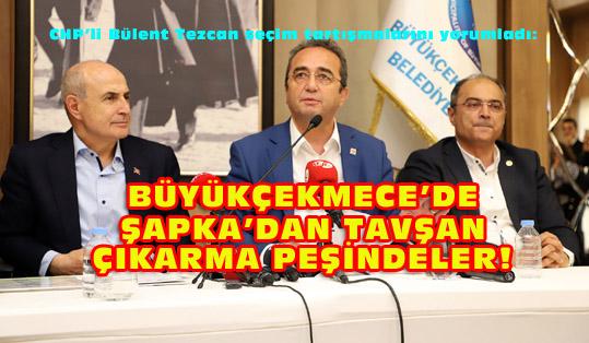 Tezcan: Seçimi kaybedenler halkın iradesine ipotek koyma derdirde