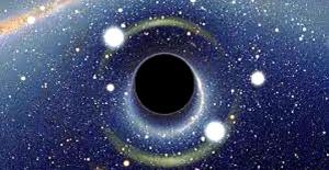 Evrendeki karadelik'in anlamı ne?