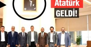 Erdoğan#039;ın fotoğrafı indi...