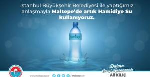 Maltepe Belediyesi Hamidiye Su ile anlaştı