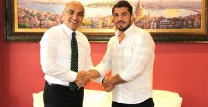 Milli Güreşçi Başkan Kerimoğlu ile antrenmana çıkacak
