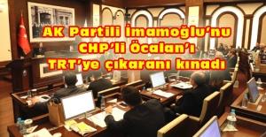 Belediye Meclisi'nde İmamoğlu tartışması