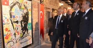 Silivri'de Atatürk resimleri sergisi