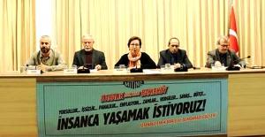 """""""İnsanca Yaşama Mitingi 'yarın Bakırköy'de"""