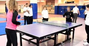 Küçükçekmece'de engelsiz spor salonu