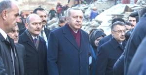 Erdoğan'ın talimatıyla deprem bölgesine yardım