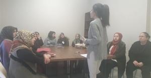 Maltepeli kadınlara sağlık eğitimi