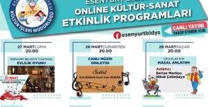 Esenyurt'ta kültür-sanat dijital ortamda