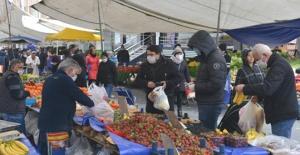 Avcılar'da pazarlara sıkı önlem