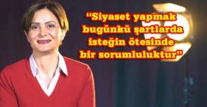 Kaftancıoğlu: Topluma kötülük yapanlara selam vermiyorum, bundan sonra da vermem!