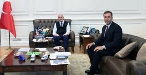 Başkan Yılmaz'dan Bakan Soylu'ya ziyaret