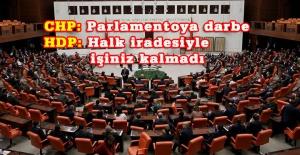 Bir CHP'li iki HDP'linin vekilliği düşürüldü