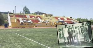 Çatalca'da tarihi stad yıkılıyor