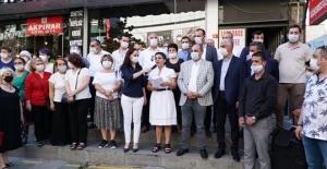 CHP Küçükçekmece'den Kaftancıoğlu'na destek