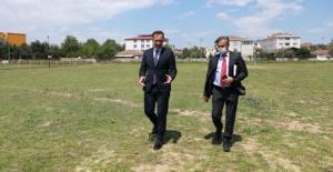 Değirmenköy'e futbol sahası müjdesi