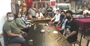 CHP'den gazilere ziyaret