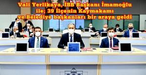 İstanbul 'da virüse karşı mücadeleye kapsamlı değerlendirme