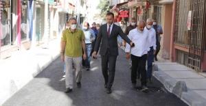 Silivri'de altyapısı olmayan sokaklar yenileniyor