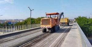 Silivri'de yol bakım çalışmaları sürüyor