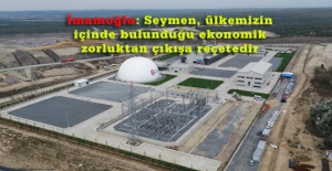 SEYMEN ÇÖP GAZI ENERJİ ÜRETİM TESİSİ 1.ETABI AÇILDI
