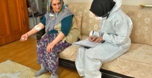 Evde sağlık hizmeti kesintisiz sürüyor
