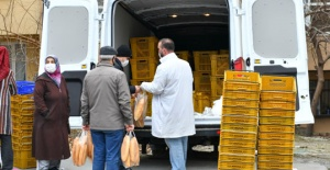 İBB Mobil Ekmek büfeleri Esenyurt'ta