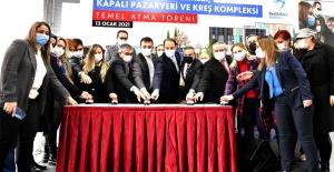 İmamoğlu ve Çalık Kültür Merkezi...