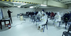 SAK ekibinden afet bilinci eğitimi