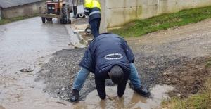 Silivri'de yağmur suyu hatları temizlendi