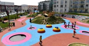 Beylilkdüzü'ne  yeni parklar