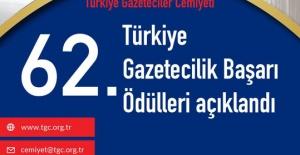 TGC Türkiye Gazetecilik Başarı Ödülleri...