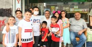 Bozkurt'tan bayram ziyaretleri