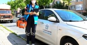 Esenyurt'ta evde sağlık hizmeti sürüyor