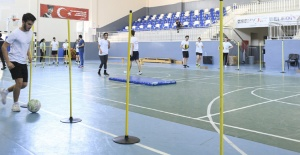 Esenyurtlu gençler spor akademisine hazırlanıyor