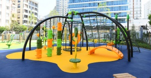 Akevler'e yeni çocuk parkı
