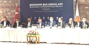 AK Parti sanayicileri dinledi