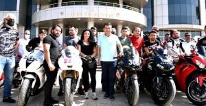 Kepez'de 'motodrag' şampiyonası