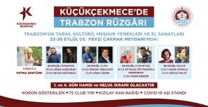 Küçükçekmece'de Trabzon rüzgarı esecek