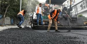 Esenyurt Osmangazi ve Battalgazi'de asfaltlama