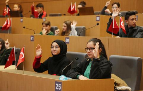 Küçükçekmece Çocuk Meclisi toplandı
