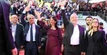 Yeni eş başkanlar Buldan ve Sancar